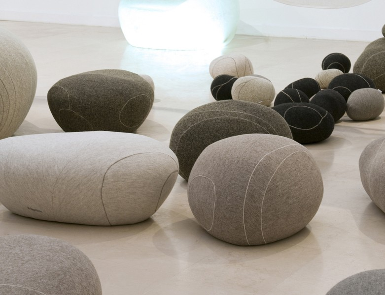 poufs stools cosset design. Black Bedroom Furniture Sets. Home Design Ideas